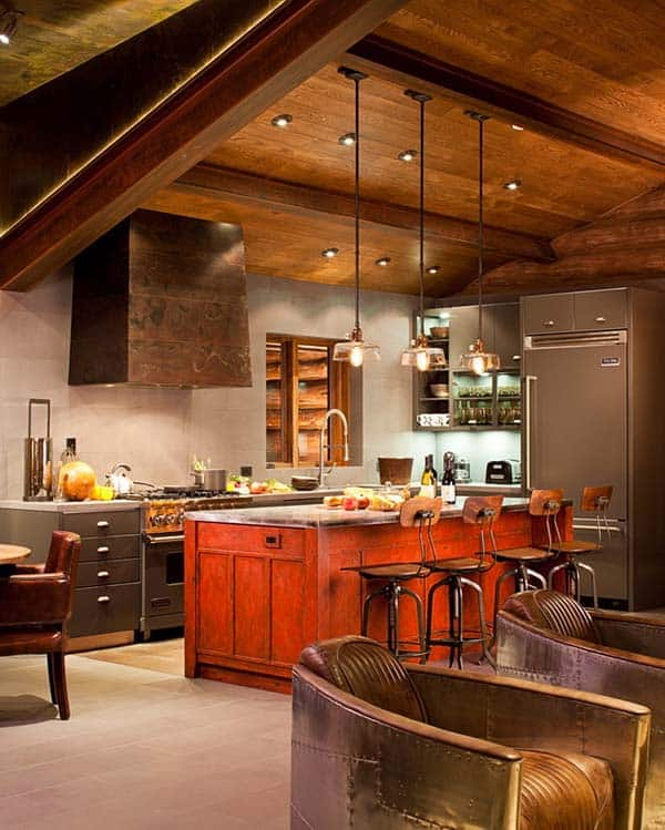 47 incredibly inspiring industrial style kitchens Kitchen design for village