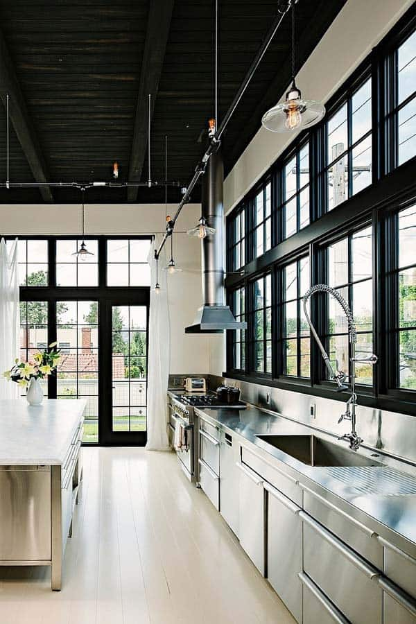 Industrial Kitchen Designs-44-1 Kindesign