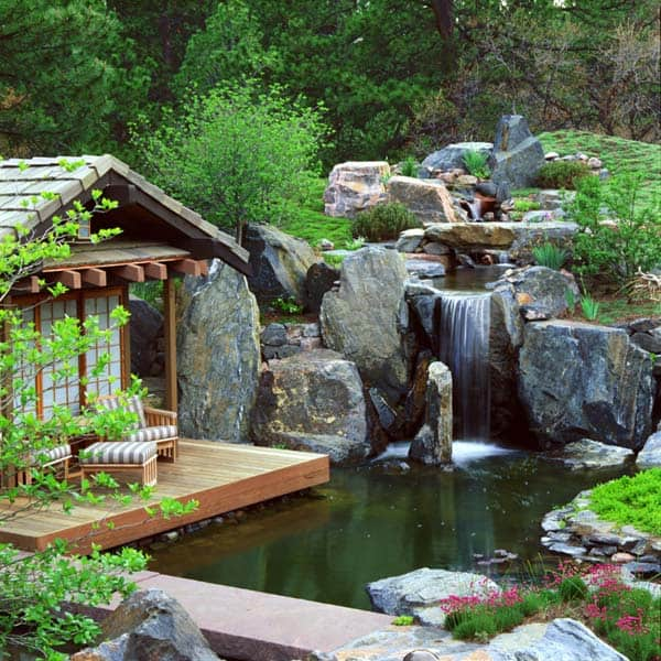 featured posts image for 55 Visually striking pond design ideas for your backyard