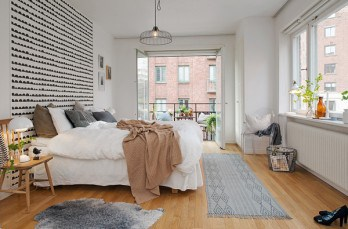 Compact apartment in Stockholm displaying functional design