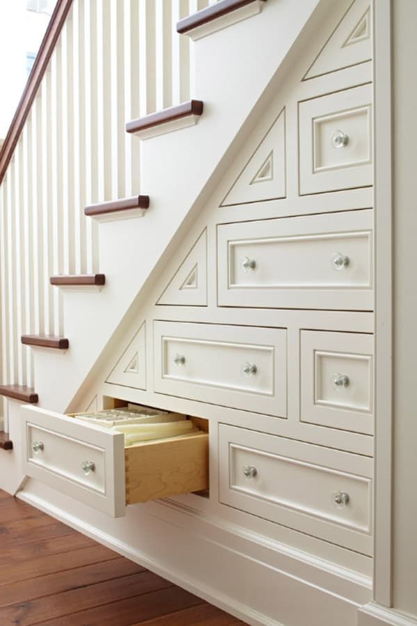 60 unbelievable under stairs storage space solutions for Under stairs drawers plans