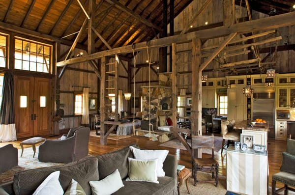 43 fabulous barn conversions inspiring you to go off grid for Converting a pole barn into a house