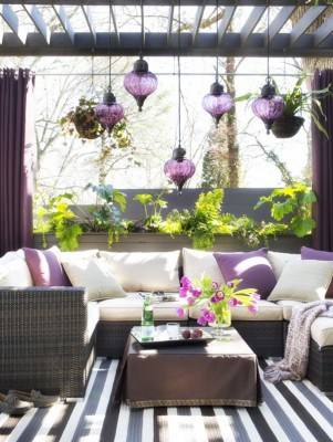Colorful Outdoor Living Spaces-01-1 Kindesign