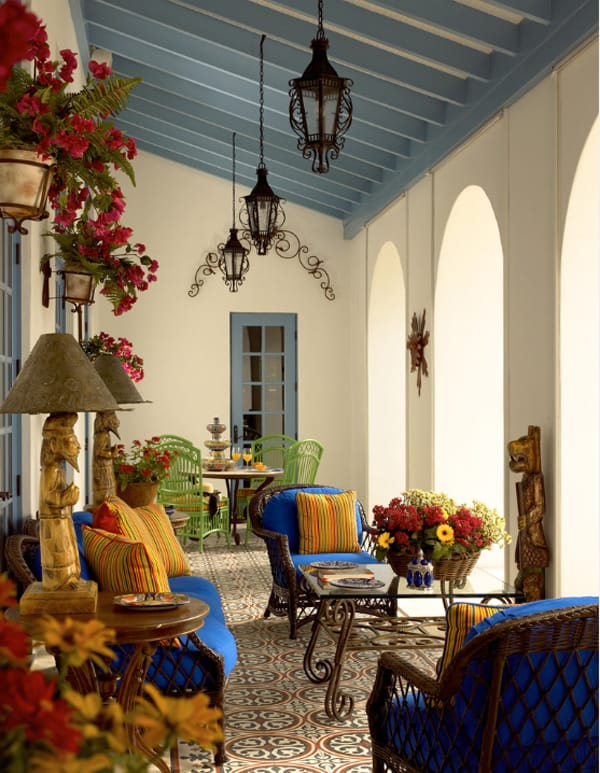 58 Amazing bright and colorful outdoor living spaces on Colorful Patio Ideas id=92698