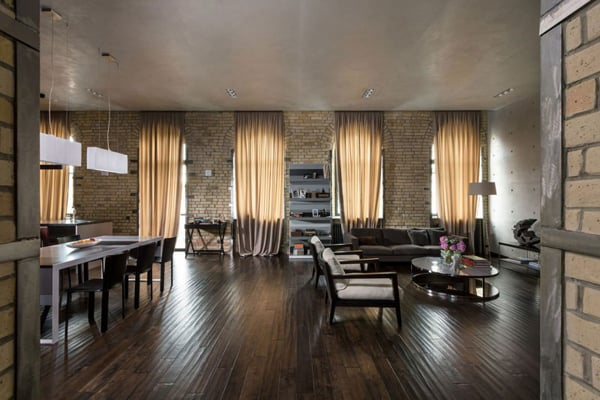 featured posts image for Podil Loft Apartment in a historical building in Kiev