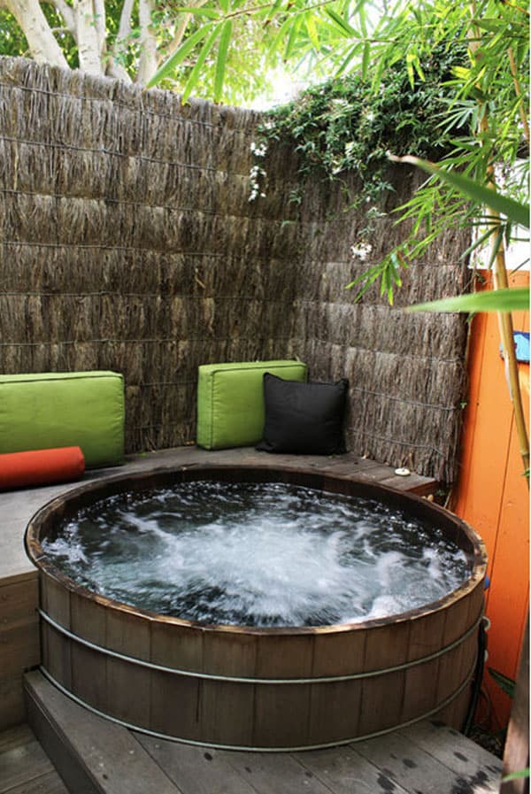 backyard hot tub privacy ideas 47 irresistible hot tub spa designs for your backyard - Hot Tub Design Ideas