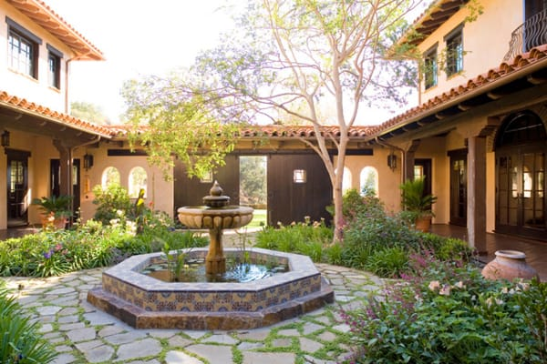 58 most sensational interior courtyard garden ideas Spanish style house plans with central courtyard