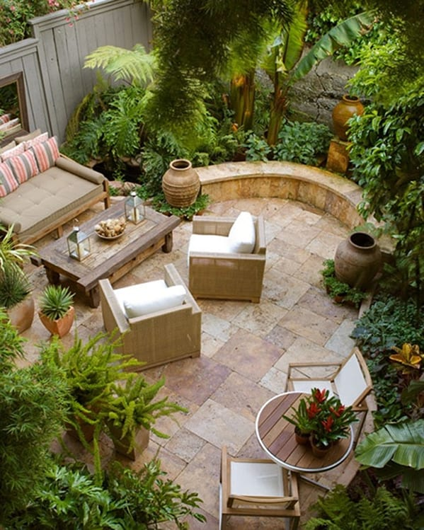 58 most sensational interior courtyard garden ideas for Courtyard landscaping ideas