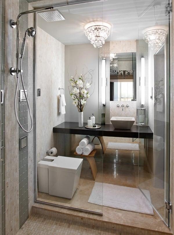 40 Stylish and functional small bathroom design ideas on Bathroom Ideas Small  id=55980