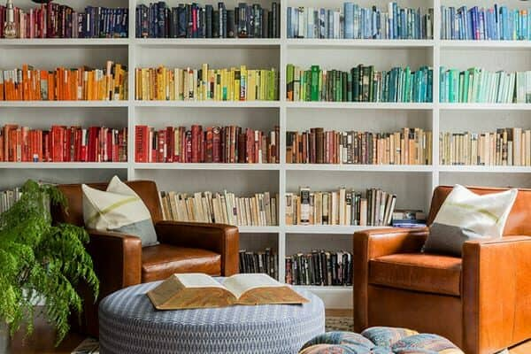 featured posts image for 45 Inspiring ways of designing cozy living spaces with books