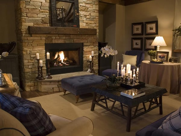 1000 images about fireplace mantel ideas on pinterest for Warm living room decor ideas