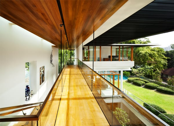 Tropical Bungalow Design In Singapore Dalvey Road House