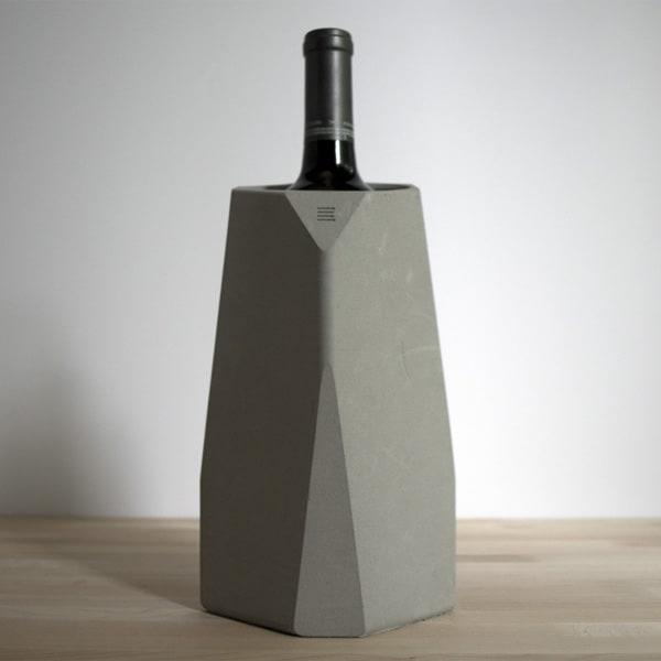 IntoConcrete-Corvi Concrete Wine Cooler-04-1 Kindesign