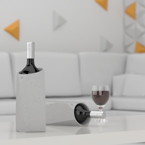 IntoConcrete-Corvi Concrete Wine Cooler-13-1 Kindesign
