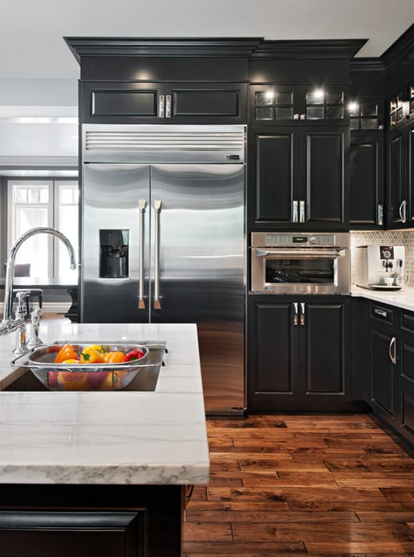 Black And White 45 Sensational Kitchens To Inspire