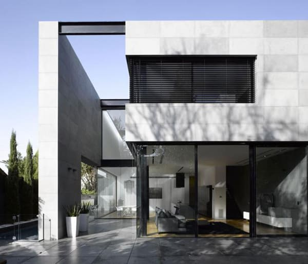 featured posts image for Minimalistic private residence in Herzliya Pituah, Israel