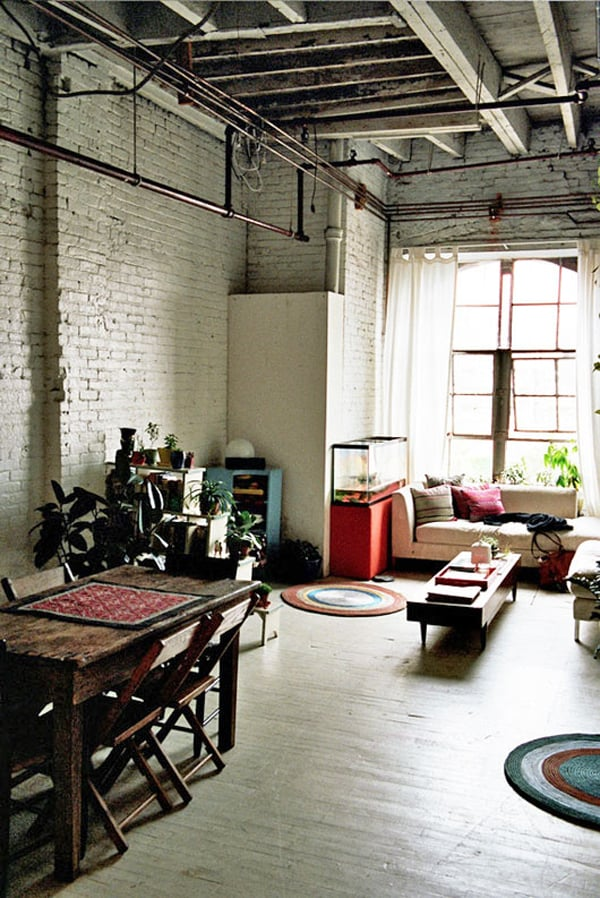 Industrial Living Rooms-08-1 Kindesign
