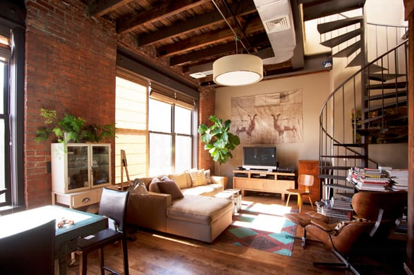 Industrial Living Rooms-11-1 Kindesign