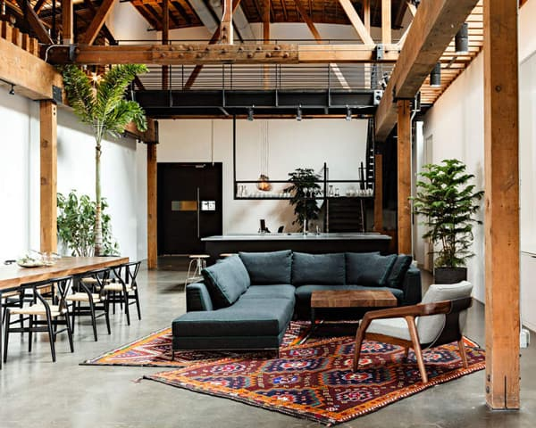 Industrial Living Rooms-31-1 Kindesign