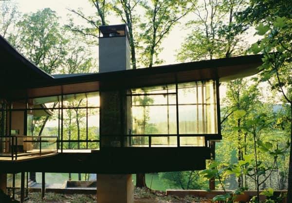 Blue Ridge Residence-Voorsanger Architects-02-1 Kindesign
