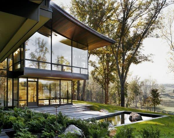 Blue Ridge Residence-Voorsanger Architects-03-1 Kindesign