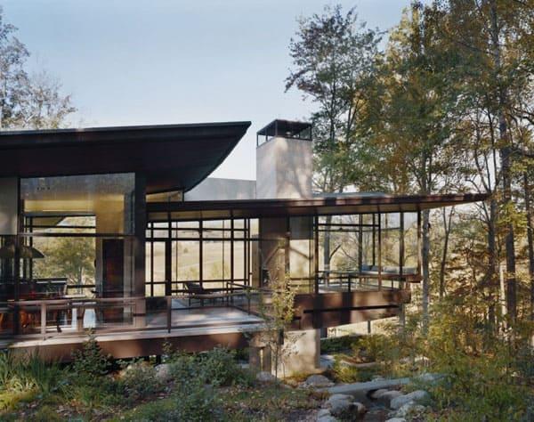 Blue Ridge Residence-Voorsanger Architects-04-1 Kindesign