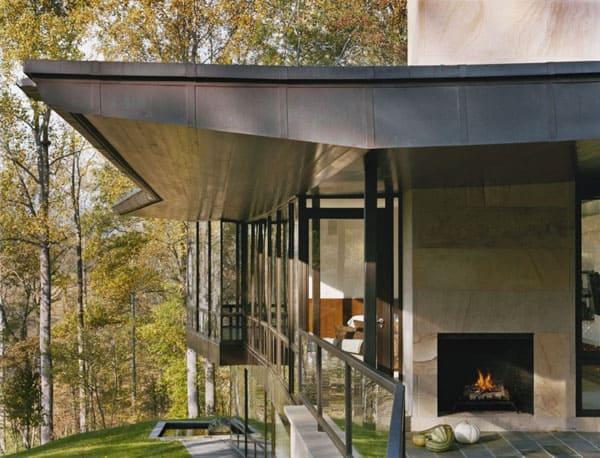 Blue Ridge Residence-Voorsanger Architects-05-1 Kindesign