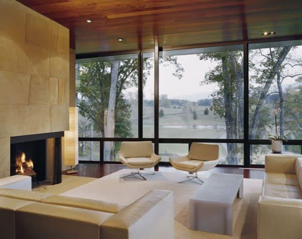 Blue Ridge Residence-Voorsanger Architects-06-1 Kindesign