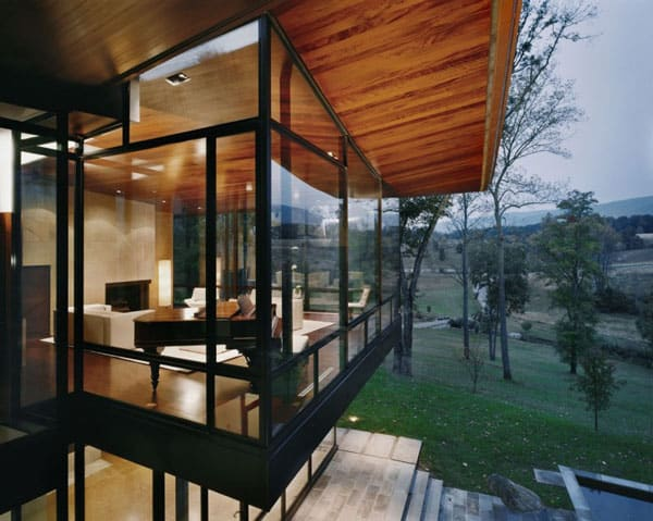 Blue Ridge Residence-Voorsanger Architects-09-1 Kindesign