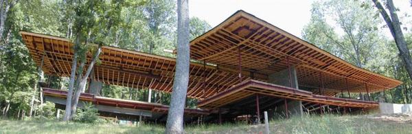Blue Ridge Residence-Voorsanger Architects-11-1 Kindesign
