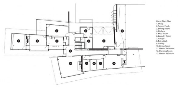 Blue Ridge Residence-Voorsanger Architects-12-1 Kindesign