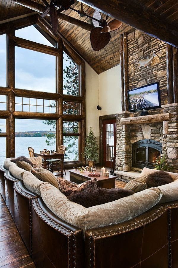 rustic cottage living room 47 extremely cozy and rustic cabin style living rooms 16462