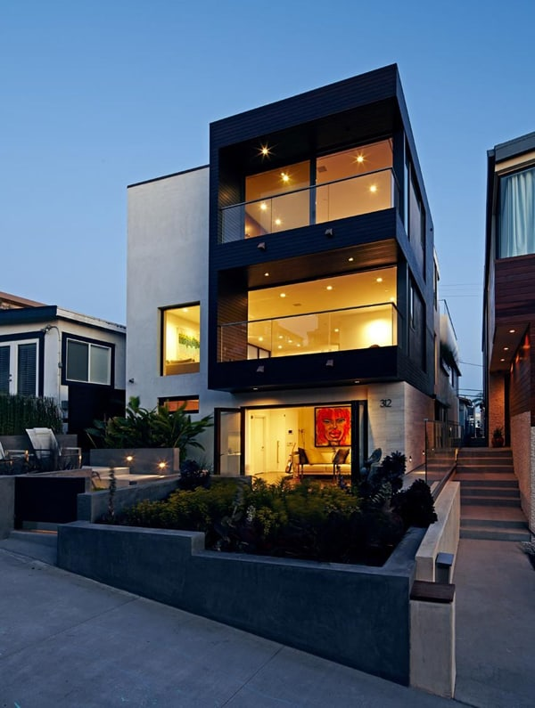 Stunning modern transformation of manhattan beach house House modern