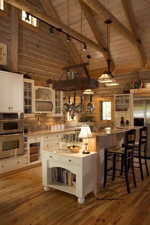 53 sensationally rustic kitchens mountain homes 1373