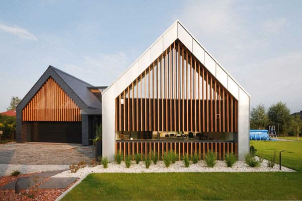 featured posts image for Stunning Two Barns House in Poland for modern family living