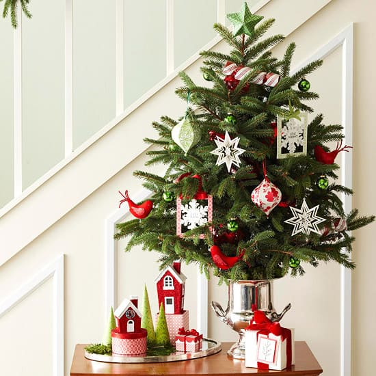 Christmas Decorating Ideas for Small Spaces-03-1 Kindesign