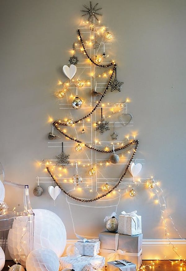 Christmas Decorating Ideas for Small Spaces-06-1 Kindesign