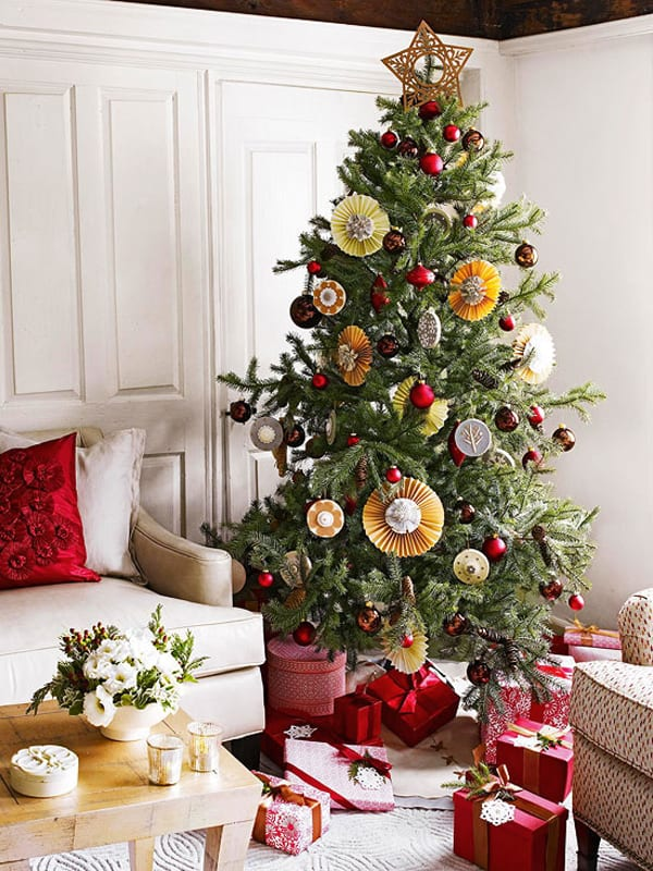 Christmas Decorating Ideas for Small Spaces-13-1 Kindesign