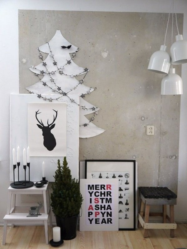 Christmas Decorating Ideas for Small Spaces-17-1 Kindesign