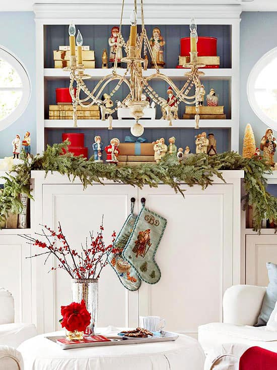 Christmas Decorating Ideas for Small Spaces-20-1 Kindesign