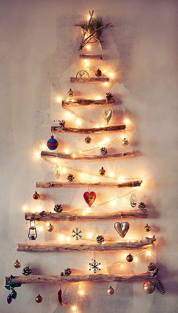 Christmas Decorating Ideas for Small Spaces-26-1 Kindesign