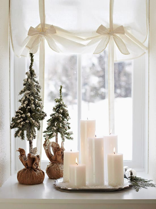 Christmas Decorating Ideas for Small Spaces-35-1 Kindesign