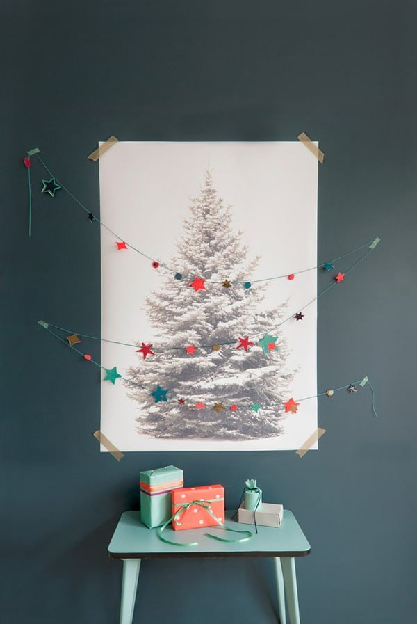 Christmas Decorating Ideas for Small Spaces-37-1 Kindesign