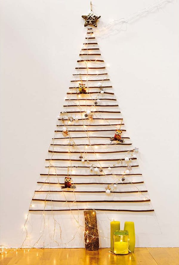 Christmas Decorating Ideas for Small Spaces-43-1 Kindesign