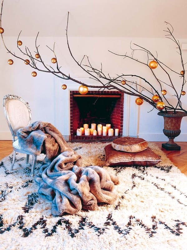 Christmas Decorating Ideas for Small Spaces-44-1 Kindesign