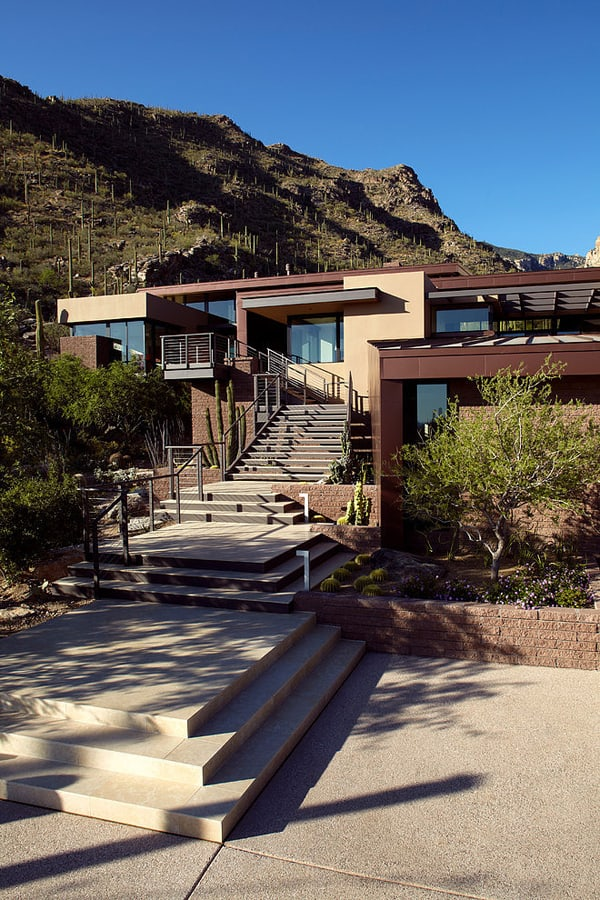 featured posts image for Modern desert home nestled in the Catalina Foothills, Arizona