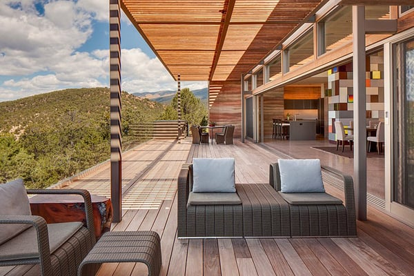 featured posts image for Rammed earth home inspired by spectacular New Mexico landscape