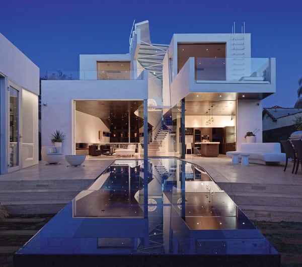 featured posts image for Fascinating modern pad in Los Angeles: Birch Residence