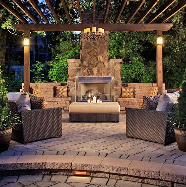Outdoor fireplace designs 01 1 for Outdoor patio fireplace ideas