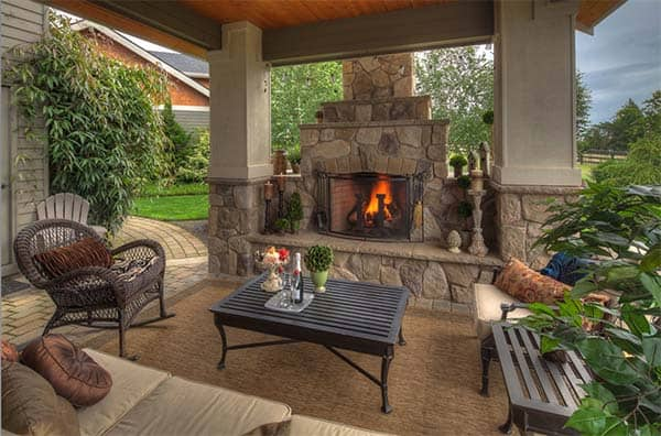 53 Most amazing outdoor fireplace designs ever on Amazing Outdoor Fireplaces id=14740